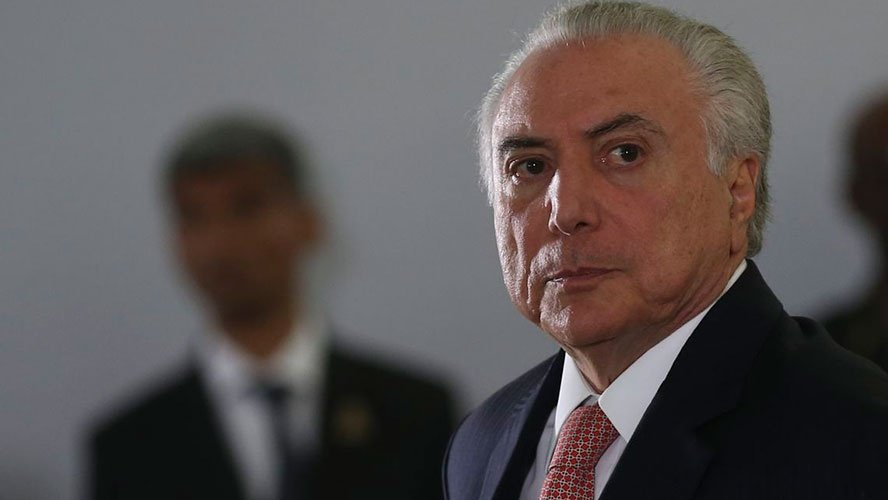 Prisão de Temer e Moreira Franco - queda na Bolsa e pressiona dólar